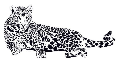 cheetah wall decals - 9