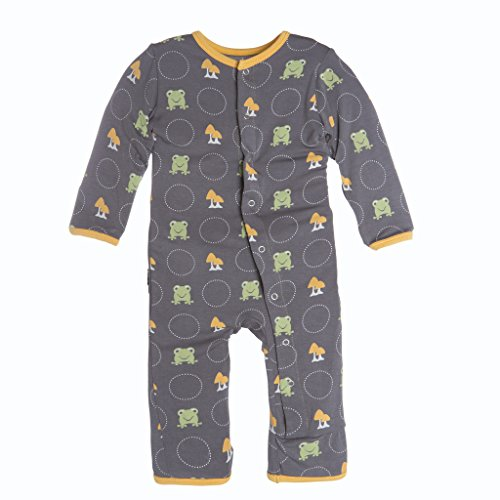 KicKee Pants Little Boys Coverall - Rain Toads, 12 - 18 Months