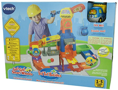 Amazon Vtech Go Go Smart Wheels Construction Playset Toys