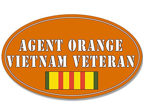Expert choice for agent orange car decal
