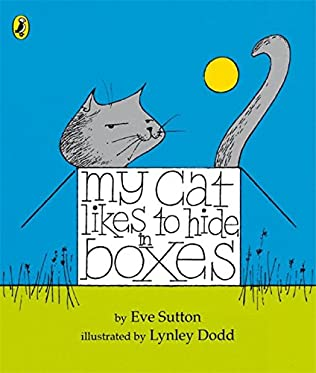 book cover of My Cat Likes to Hide in Boxes
