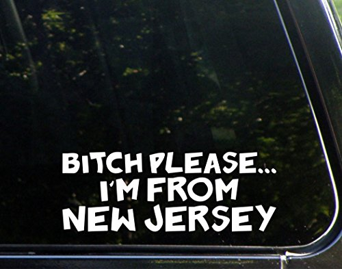 jersey window decal - 3