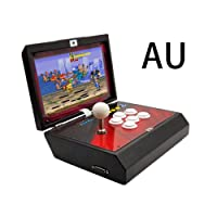 Yunt 1388 Classic Video HD Games, Portable Home Arcade Game Console Moonlight Box 6S with 10 Inch LCD Screen