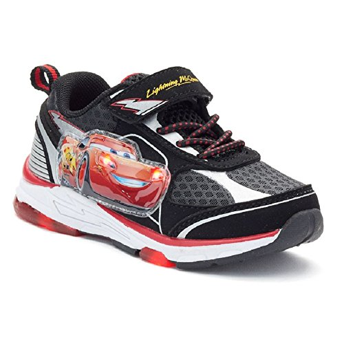 Cars Movie  Boys Shoe Lightning Mcqueen Light Up Sneaker