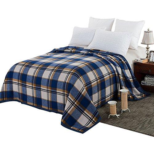 BDUK Schurwolle Decken Bettwäsche Doppelbett im Winter warme Decke Decken