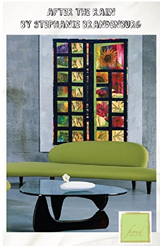 1 After the Rain Quilt Kit Frond Design Studios 44'' x 60'' Cotton Fabric by Frond Design Studios (Image #3)