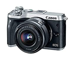 Image of the product Canon EOS M6 Silver EF M that is listed on the catalogue brand of Canon.
