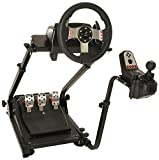 xbox one steering wheel chair - Conquer Racing Simulator Cockpit Driving Gaming Wheel Stand and Gear Shifter Mount