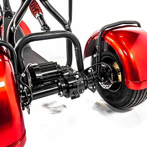 Bluetooth Speaker On Wheels >> E-Wheels EW-21 CHOPPER TRIKE Fat Tires 3-wheel Electric Scooter | Electric Mobility Scooters