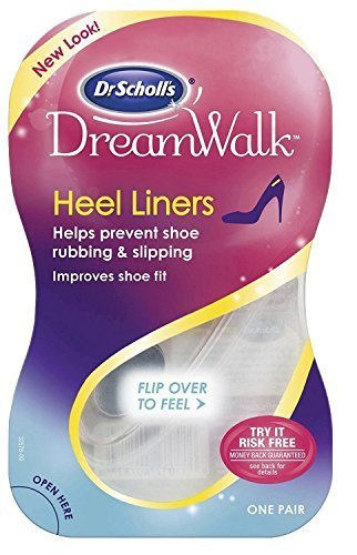 - Dr Scholl's DreamWalk Heel Liners, 1 Pair (Pack of 3)