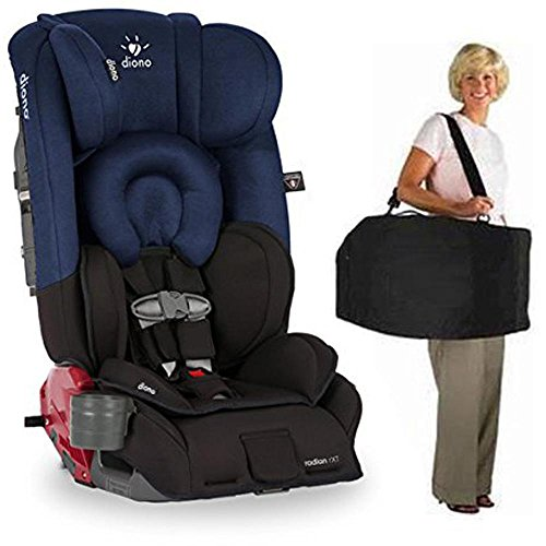 Diono Radian RXT Car Seat With Carrying Bag Black Cobalt