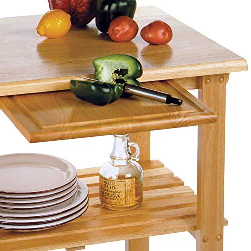 home, kitchen, furniture, kitchen, dining room furniture,  kitchen islands, carts 2 on sale Winsome Wood Mario Kitchen, Natural in USA