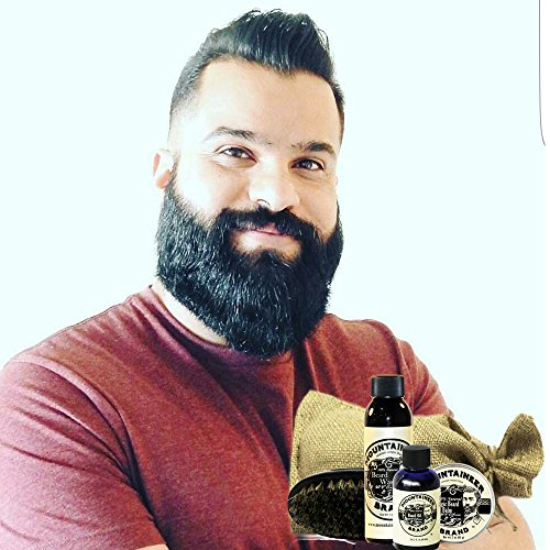beard care kit by mountaineer brand all natural complete beard care in one kit wv citrus. Black Bedroom Furniture Sets. Home Design Ideas