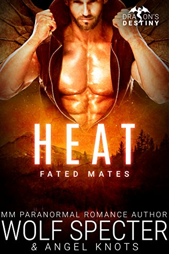 Heat: M/M Gay Shifter Mpreg Romance (Dragon's Destiny: Fated Mates Book 1)