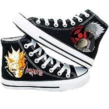 Naruto Uzumaki Naruto Hatake Kakashi Cosplay Shoes Canvas Shoes Sneakers