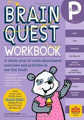 Brain Quest Workbook Pre-k from Workman Publishing Company