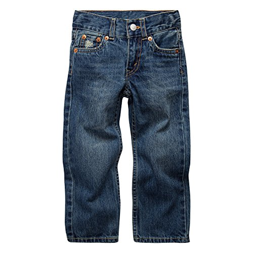 Levi's Boys' 514 Straight Fit Jeans,Carli Blue,6