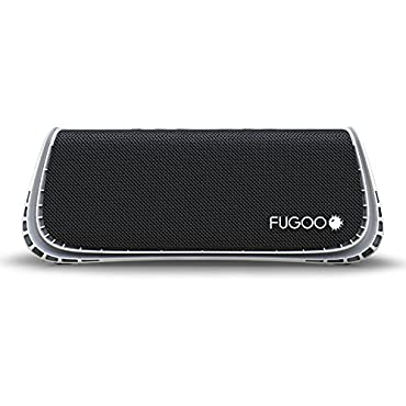 Fugoo Sport XL Rugged Bluetooth Speaker (Black/White)