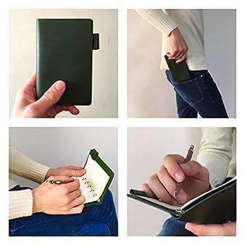 高級皮革イタリアンレザー 「書くこと」 【システム手帳 ミニ6穴】 リング内径8mm ポケットサイズ 「考えること」 に集中できるSIRUHA手帳
