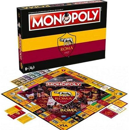 Winning Moves Monopoly - A.S. Roma Merchandising Ufficiale: Amazon.es: Juguetes y juegos