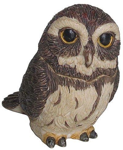 Harmony Kingdom   Harmony Ball   Pot Bellys  Pygmy Owl  Figurine