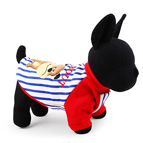 2016 petcircle new arrivals pet dog clothes winter cute dog dog hoodies for chihuahua warm dogs coats winter pet products (L, RED)
