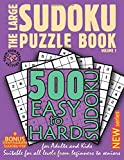 The Large Sudoku Puzzle Book - Volume 1: 500 Easy