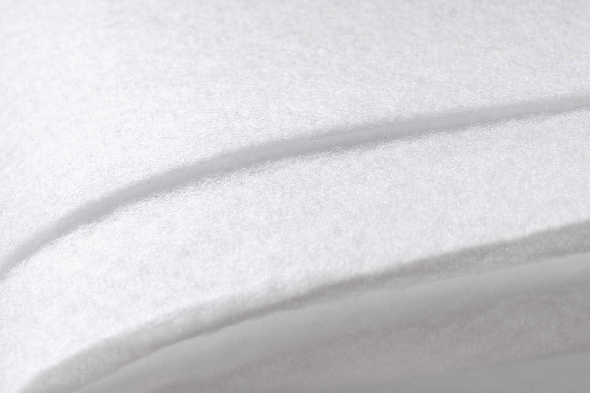 Wei/ß 70cm x 140cm One Couture Antirutschmatte Teppichunterlage Teppichstop Teppich Gleitschutz Antirutsch 100/% Polyester