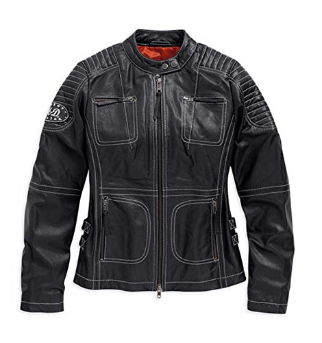 Harley Davidson Womens Agitator Leather 98086 15VW