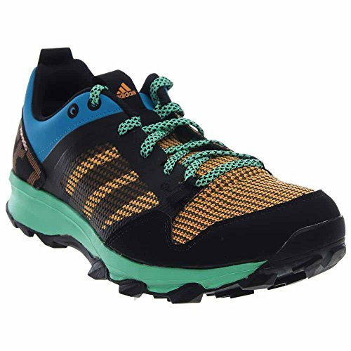 adidas Performance Men's Kanadia 7 TR M Trail Running ShoeSolar Blue/Black/Gold8 M US