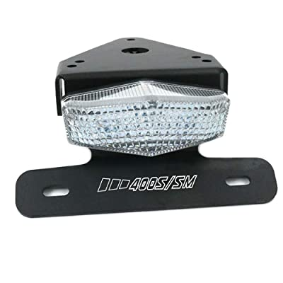 crazy sport License LED Brake Tail Lights Holder For SUZUKI DRZ400 S/SM DR-Z 400 DRZ400SM DRZ400S DRZ DRZ400 2020 Motorcycle Tail Tidy Fender Eliminato LED Brake Lights (Clear): Automotive