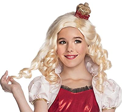 Ever After High - Apple White Wig with Headpiece - Standard One-Size