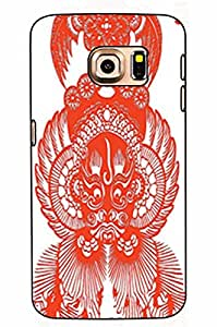 Samsung Galaxy S6 Case by Xunhome ART- Peking Opera Make-ups album-208 -Samsung Galaxy S6 Case, Samsung Galaxy S6 (5.1'') Case - Fashion Designed Style Colorful Painted TPU Soft Cover Case for Samsung Galaxy S6 (5.1'')