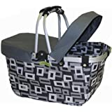 JanetBasket NBC002 Basket Cover, Large, Grey