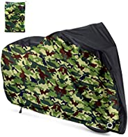 Roctee Waterproof XL Bicycle Cover, Outside Bikes Storage Covers Rain Sun UV Dust Wind Proof Mountain Bicycle
