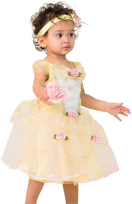Guru Disney Belle – Disfraz para bebé y niño pequeño: Amazon.es ...