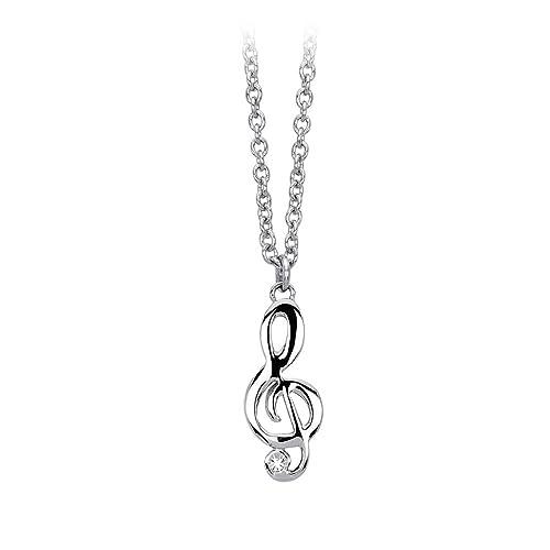 selezione premium 1e534 0a443 Collana Donna 2Jewels Puppy Chiave di Violino in Acciaio e ...