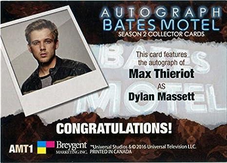 Breygent Bates Motel Season 2 Autograph Card AMT1 Max Thieriot