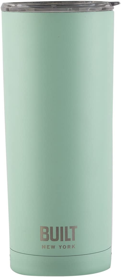 Built NY Double Wall Stainless Steel Vacuum Insulated Tumbler, 20-Ounce, Mint - 5193245