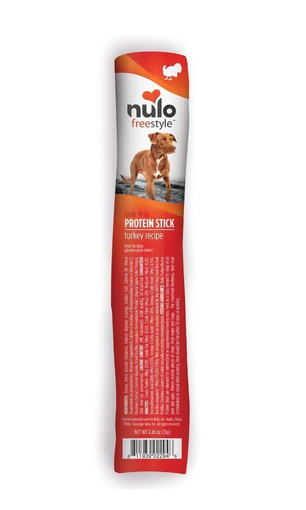 Nulo Freestyle Predein Sticks Turkey Dog Treat 0.46oz (16 Count)