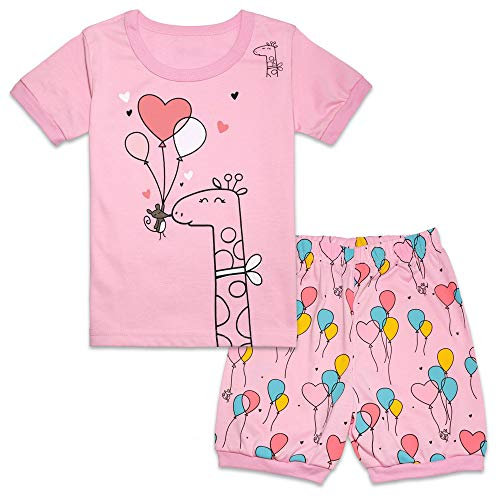 Tkala Fashion Christmas Girls Pajamas Children Clothes Set 100% Cotton Little Kids Pjs Sleepwear (10, 3-Pajamas) ()