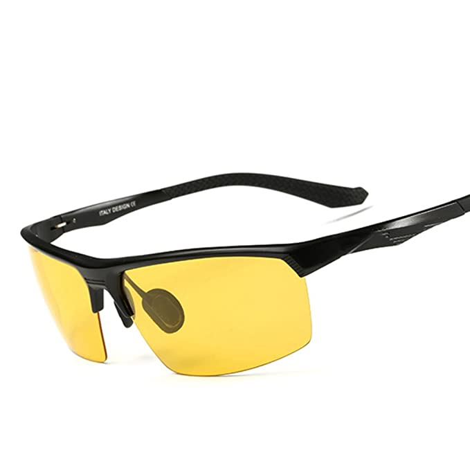 677019b035d4 night vision goggles/Drivers Polarized Sunglasses/Night driving mirrors/Night  driving glasses/Anti-high beam lights-A: Amazon.ca: Clothing & Accessories