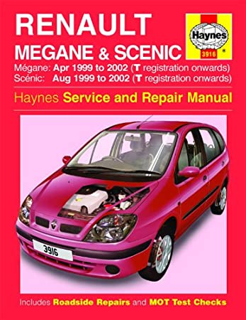 renault megane scenic repair manual haynes manual service manual rh amazon co uk Renault Scenic 2002 Renault Scenic 2004 Fan Belt Set Up