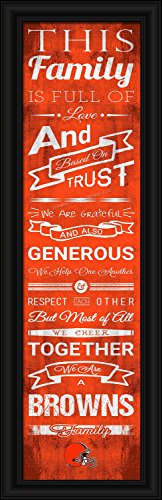 Cleveland Browns Family Cheer Print 8