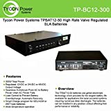 Tycon Power Systems - TP-BC12-300 - 12vdc 300w Wet/gel Smart Battery Charger