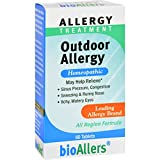 Bio-Allers Outdoor Allergy Treatment - 60 Tablets (Pack of 2)