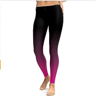 Amazon.com: Shuangklei Leggins para mujer, fitness, yoga ...