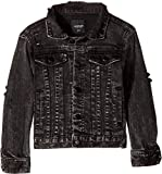 SUPERISM Baby Boy's Corbin Long Sleeve Denim Jacket (Toddler/Little Kids/Big Kids) Black 8 | SM