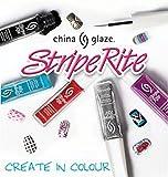 China Glaze Stripe Rite Best In Snow Best In Snow