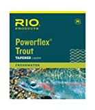 RIO Fly Fishing Power flex-Knotless 15′ 3X-Fishing Leaders, Clear Review